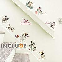ウォールステッカー 犬 ドッグ フレンチブルドッグ フレンチブル ブルドッグ 子犬 ワン kawaii かわいい キュート ぶーニャン 誕生日 人気 自然 アートワーク キッズ