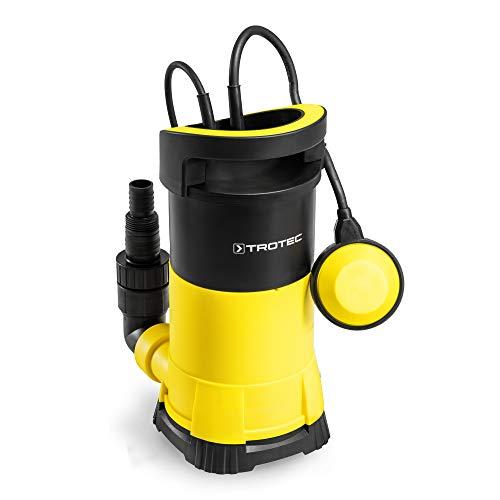 TROTEC Klarwasser-Tauchpumpe TWP 7505 E Gartenpumpe Pumpe flachsaugend