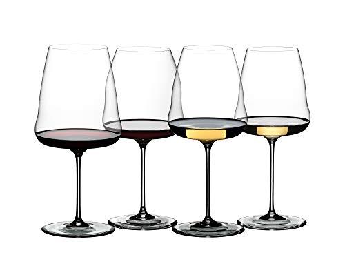 Riedel Winewings Tasting Wine Glass Set, Set of 4, Clear
