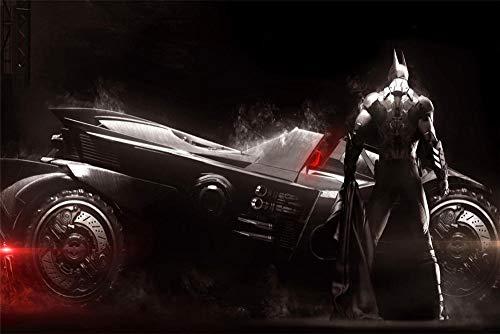 Puzzle 1000 Piezas para Adultos Niños,Batman Arkham Knight Gran Juego de Rompecabezas para Adultos Adolescentes Entretenimiento Juguetes Decoración del Hogar-30x20inch