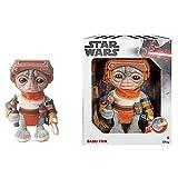 Star Wars Peluche 22 cm Babu Frik con sonidos, juguete para niños +3 años, Mattel GXB50