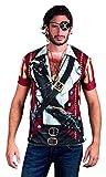 Boland 84223 - Fotorealistisches Shirt Pirate, Kostüme für Erwachsene
