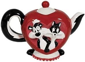 Westland Giftware Ceramic Teapot, Mi Amor, 26 oz, Multicolor