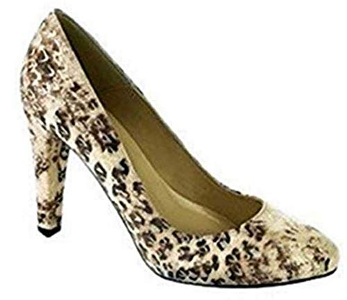 CHILLANY Pumps Veloursleder in Taupe/Ecru Gr. 39