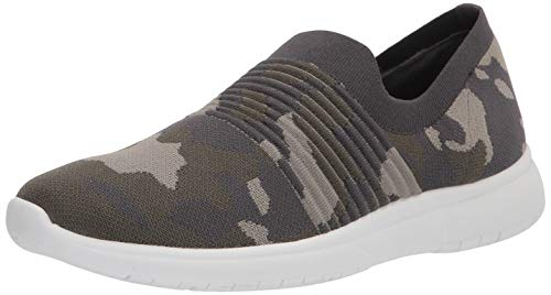 Blondo Women's Slip-on Sneaker, Camo Knit, 10