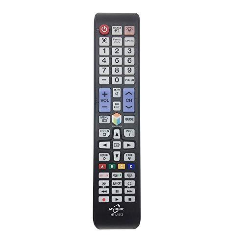 MYHGRC Mando Universal TV a Distancia para Samsung Smart TV Compatible con Todos los Controles remotos de Samsung TV -NO se Requiere configuración para Samsung TV Mando a Distancia Universal