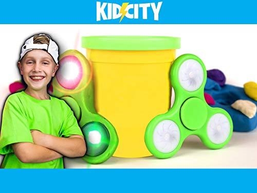 DIY Fidget Spinners by KidCity!