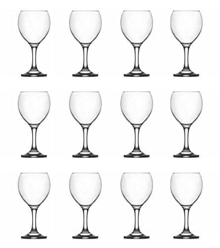 Weinglas Wassergläser 0,2 L schöne & schwere Ausführung 12 Stück Set