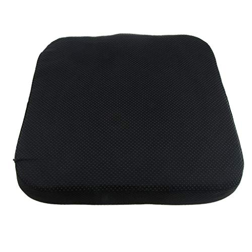 Portable Lumbar Support Orthopedic Pad Square Seat Chair Cushion for Office