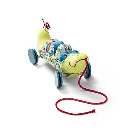 LILLIPUTIENS Anatole Cocodrilo de arrastre (Producto para bebé)