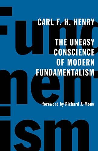 Image of The Uneasy Conscience of Modern Fundamentalism