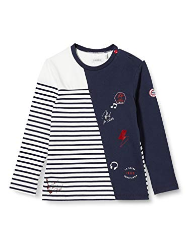 IKKS Junior XR10041 Camiseta, Blanco Hueso, 6 Mes para Bebés