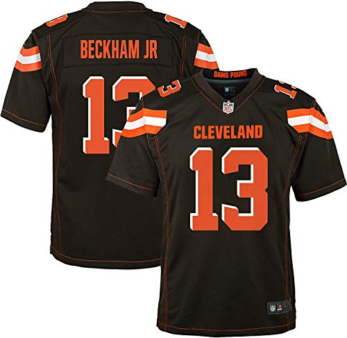 Odell Beckham Jr Cleveland Browns #6 Brown Youth Home Game Day Jersey (10-12)