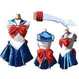K1690 美少女戦士 セーラームーン 月野うさぎ 戦闘服 コスプレ衣装 (女性M)