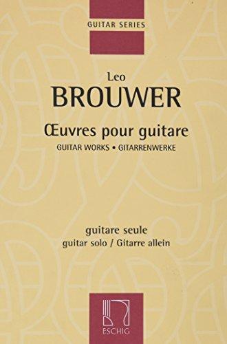 Oeuvres pour guitare --- Guitare