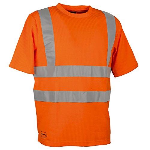 Cofra waarschuwingsbescherming T-shirt Alert V118-1 werkshirt, S, in signaalkleur oranje, 40-00V11801-S