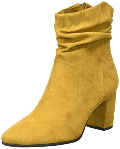 MARCO TOZZI Damen 2-2-25307-35 Stiefelette, Mustard, 38 EU