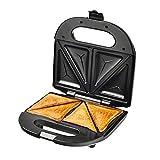 JDKC- Waffeleisen Sandwich Grill Waffeleisen Antihaft-Toaster Panini Press 750w Edelstahl Toastie...