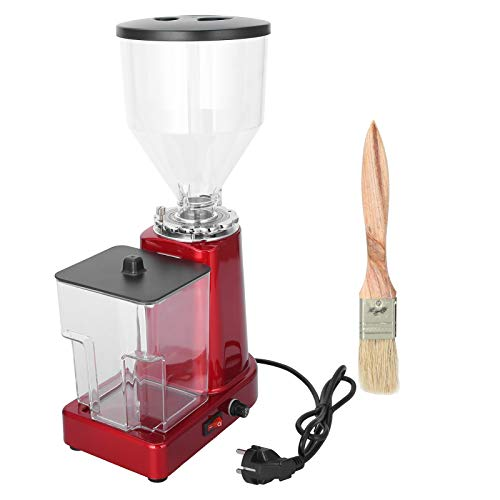 Molinillo de café eléctrico, gran capacidad con cubo de almacenamiento Molinillo eléctrico de especias y café, 200 W, 1,5 L, enchufe de la UE, 220 V para especias de café, uso doméstico,