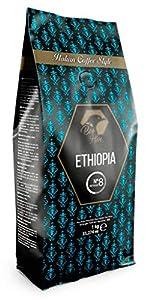 Beo Hive   Café en Grano   Cafe Ethiopia Blend 100% de Origen Etiopia   1 kg   Aromático y de Tueste Natural   Café en Grano Natural   Sabor Intenso   Café Seleccionado de Primera Calidad