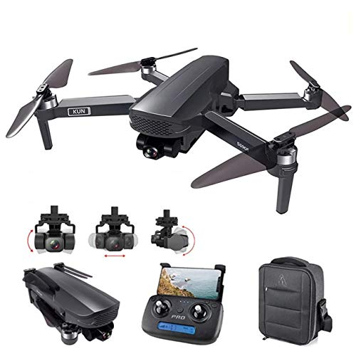 GPS Drone 3-Axis Gimbal 4K Camara 5G Wifi FPV Professional Dron 1.2KM Long Distance 50X Brushless RC Quadcopter Altitude Hold, Follow Me, Custom Flight Path