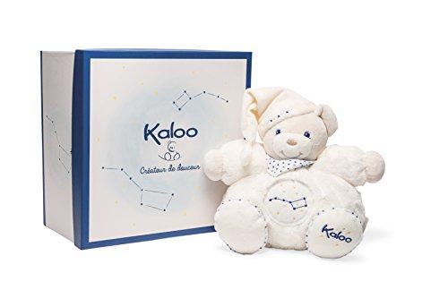 Kaloo - Colección Petite Etoile Osito Gordinflón de peluche fosforescente beige, 25 cm (K960291)