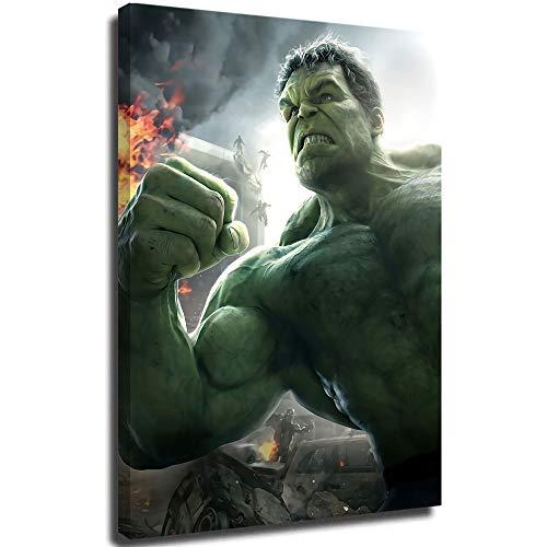 MRFSY Hulk in age of ultron - Pintura abstracta para pared (61 x 91 cm)