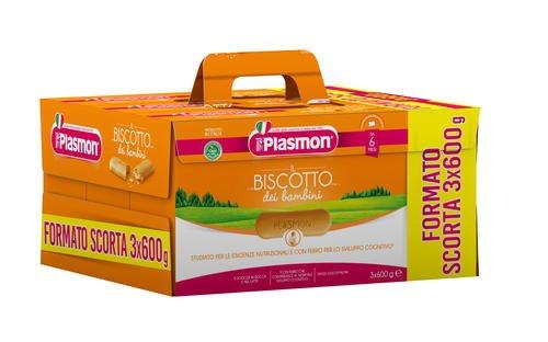 OFFERTA CONVENIENZA 3 pacchi da 15 confezioni l'uno biscotti plasmon