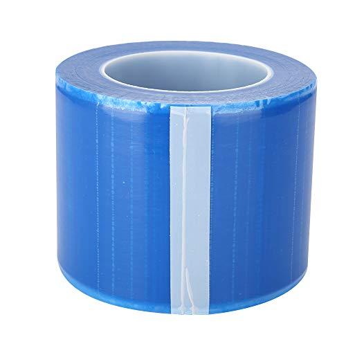 Película protectora desechable de película de barrera para materiales dentales Envoltura adhesiva de película de barrera (Color : Azul)