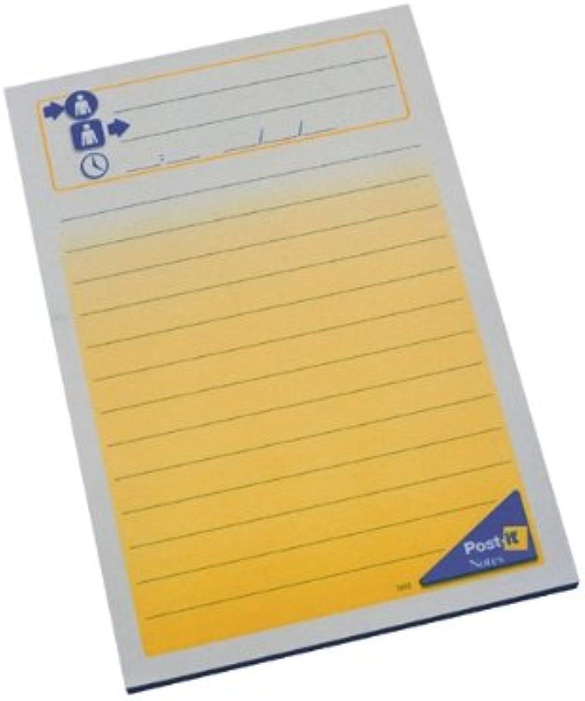 Post-It Block wiederverwendbar 50 Blatt per Telefon - 102 x 149 mm, 12 Stück B004LS803G | Neu