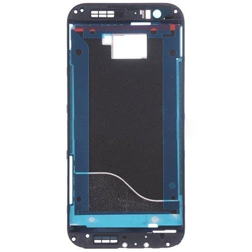 WEI RONGHUA Zubehör für Handy Frontblende Gehäuse LCD-Rahmen for HTC One M8 (Schwarz) elektronisch (Farbe : Black)