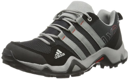 adidas Unisex-Kinder AX 2.0 Trekking- & Wanderhalbschuhe, Schwarz (Black 1/Chalk 2/Light Scarlet), 38 EU