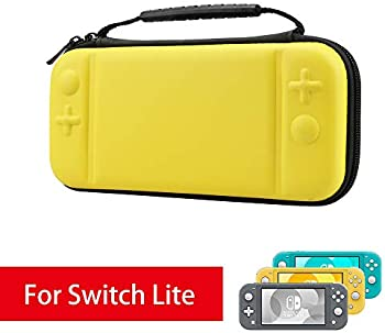 AFAITH Carrying Case for Nintendo Switch Lite (Yellow)