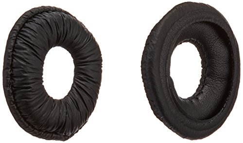Plantronics (67063-01) 1-Pair Replacement Leatherette Ear Cushions for CS50 Uniband Headband