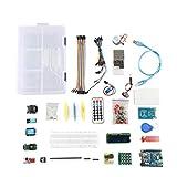Canjerusof UNO Proyecto Starter Kit Principiante súper Aprendizaje Kit Compatible con Arduino IDE UNO R3 de Control Components ControllerIndustrial