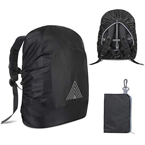 Outdoor Regenschutz Rucksack Regenhülle schulranzen regenschutz schulranzen Regenschutz für Rucksack,Wasserfester Regenschutz für den Rucksac,Regenhülle für Camping Wandern Backpack(XS(15-25L)