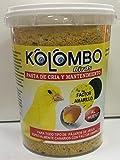 KOLOMBO Pasta de cría y Mantenimiento Factor Amarillo (Formato 650 Gr) …