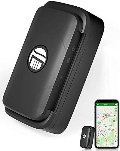 Likorlove GPS Tracker 90 giorni Standby Tracking in Tempo Reale Tracciatore di Posizione,Geo-fence Alarm App Gratuita Antifurto per Auto Moto Camion con Forte Magnete Batteria 4400mah