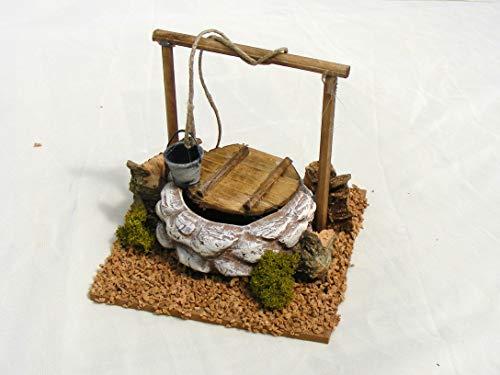 De Sisinno Pozo de Terracota para belén–Dim.Altura X 12x 12cm