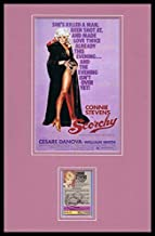 Connie Stevens Signed Framed 11x17 Scorchy Poster Display