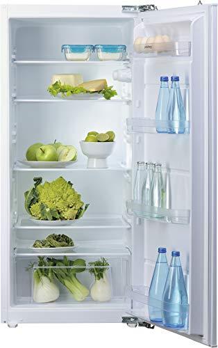 Privileg PRCI 336 Einbau-Kühlschrank / 197 L Nutzinhalt/LED-Licht/Einfache Festtürmontage (Nische 122), weiß