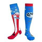 IENPAJNEPQN 1x Kompressionssocken Laufen Reiten rutschfeste Socken Schweißabsorbierende, atmungsaktive Unisex-Nylonsocken (Size : S/M)