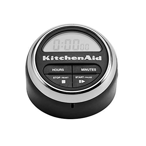 KitchenAid Digitaler Kurzzeitwecker, Küchenuhr, Eieruhr  Schwarz