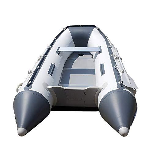 DMBHW Verdicken Aufblasbar Sturmboot Schlauchboot 6 Personen 330cm Outdoor Rafting PVC-Material mit Ruder Zugseil Polster und Luftpumpe