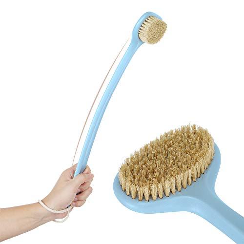 Body Brush for Dry or Wet Brushing,Stiff Bristles for Dry Skin Body...