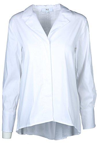 Nadine H Damen Bluse Größe 36 EU Weiß (weiß)
