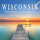Wisconsin Calendar 2022: Gifts for Friends and Family with 12-month Monthly Calendar in 8.5x8.5 inch