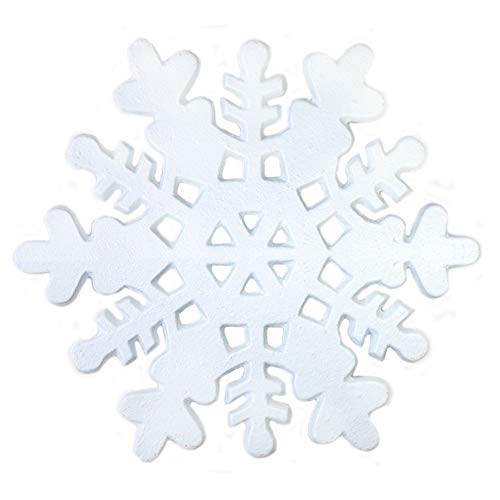 Cobrays Cast Iron Trivets, Decorative Vintage Rustic Metal Trivets for Hot Dishes, Kitchen, Dining Table with Rubber Feet (Snowflake)