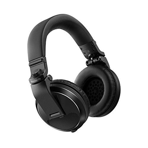 PIONEER HDJ-X5-K Professional DJ Headphone, Black, (HDJX5K)