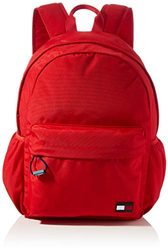 Tommy Hilfiger BTS Kids Core Backpack, Pantalones Unisex Niños, Primary Red, One Size